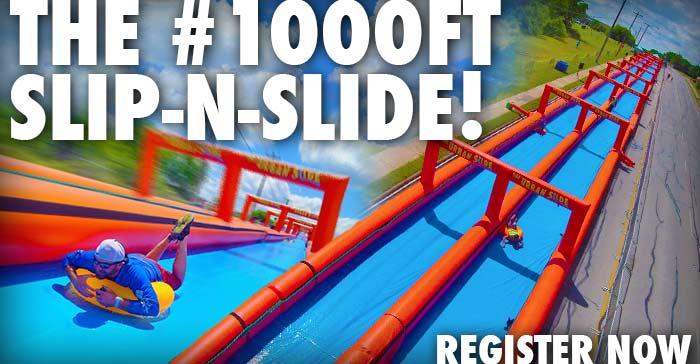 1,000 Ft Urban Slip N Slide - The Urban Slide