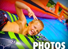 Slip and slide pictures